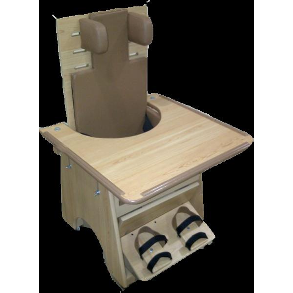 كرسي تعليم جلوس خشبي صغير