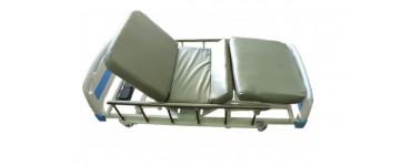 سرير طبى 4 حركات مع مرتبه مقسمه