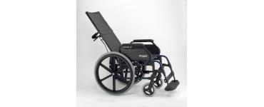 كرسي بريزي متحرك ظهر طويل صن رايز مقاس 20 أنش ( 52 سم )- صناعة اسباني