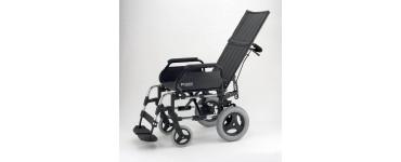 كرسي بريزي متحرك ظهر طويل صن رايز عجل صغير  مقاس 17 أنش ( 43 سم )- صناعة اسباني