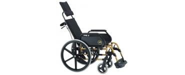 كرسي بريزي متحرك ظهر طويل  صن رايز مقاس 15 أنش ( 37 سم )- صناعة اسباني